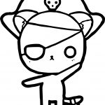 Characters Monkey Boy Coloring Page