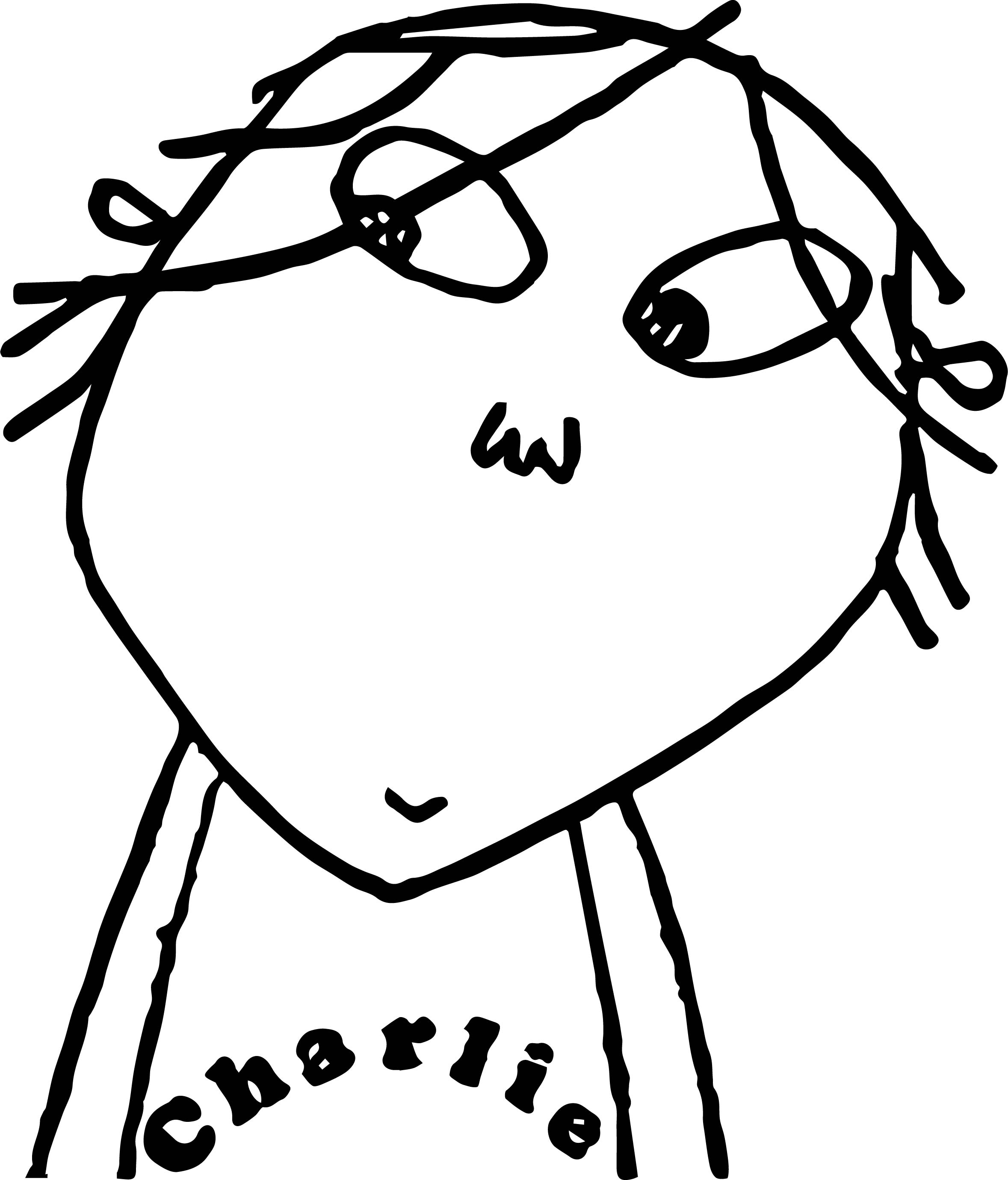 Charlie And Lola Picture Coloring Page