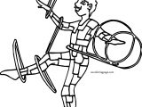 Circus Man Coloring Page