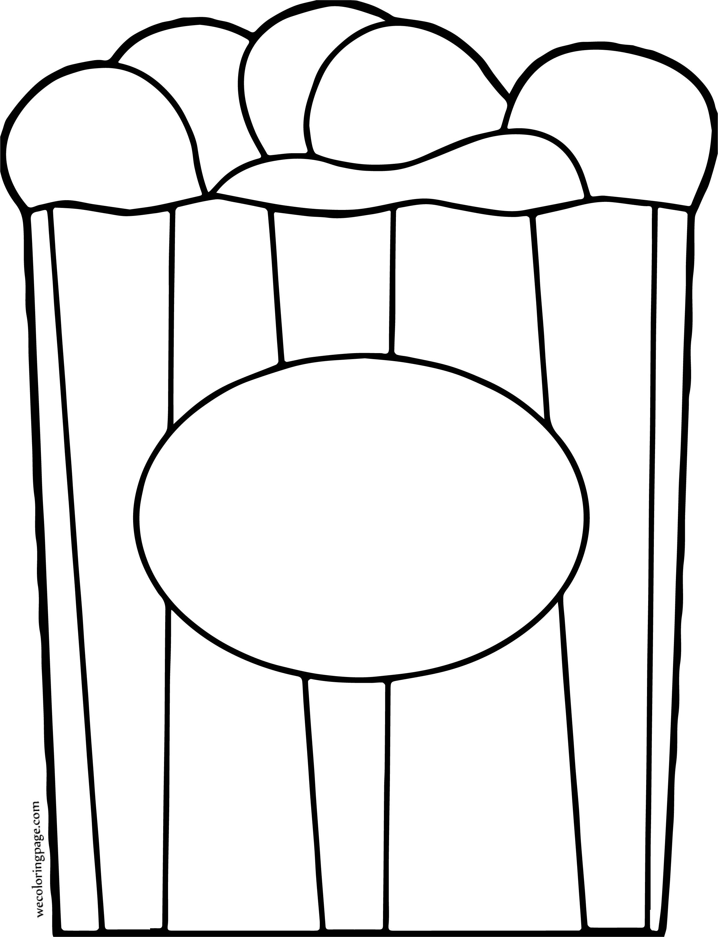 Circus Peanuts Box Coloring Page