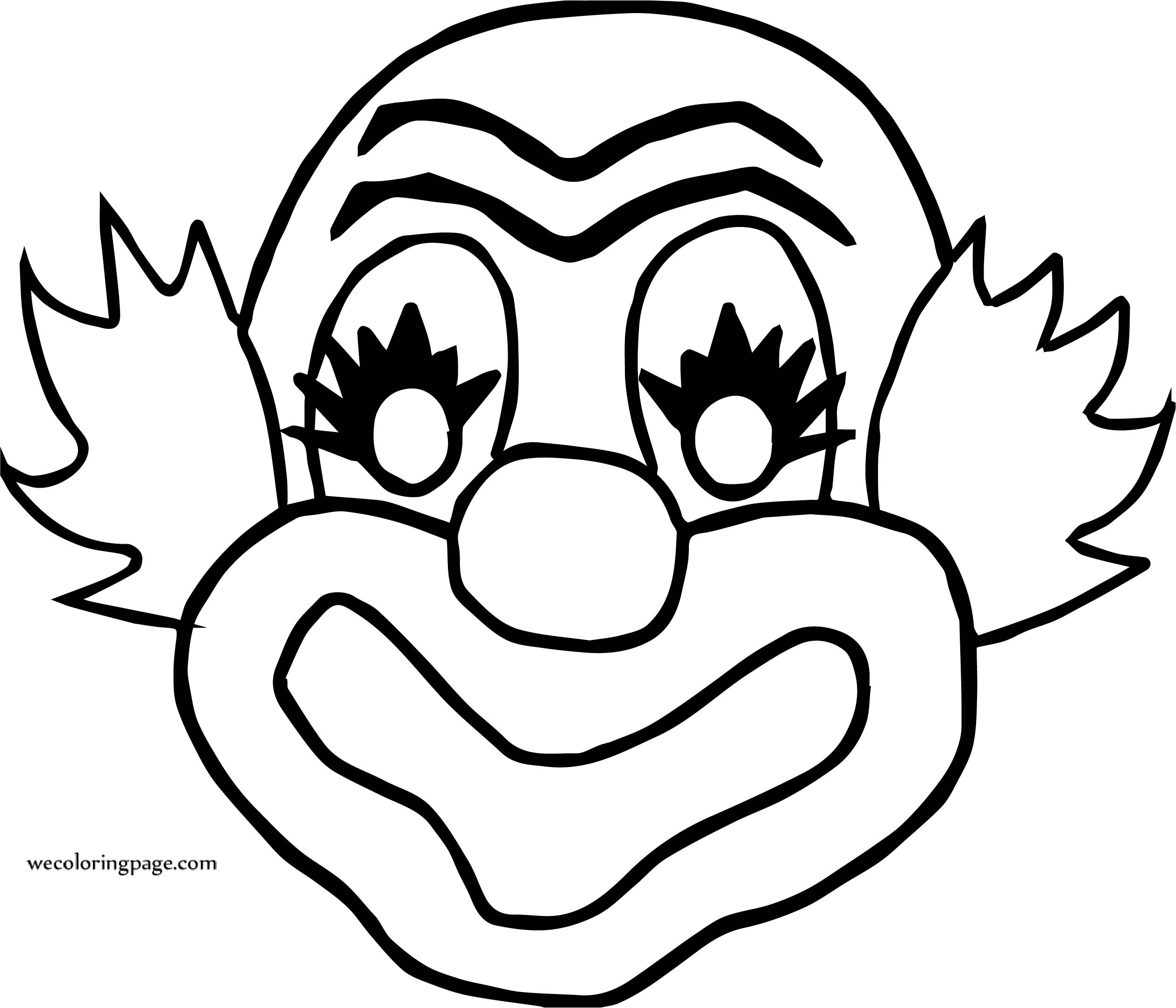 Clown Coloring Pages Now