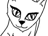 Coming Cat Coloring Page