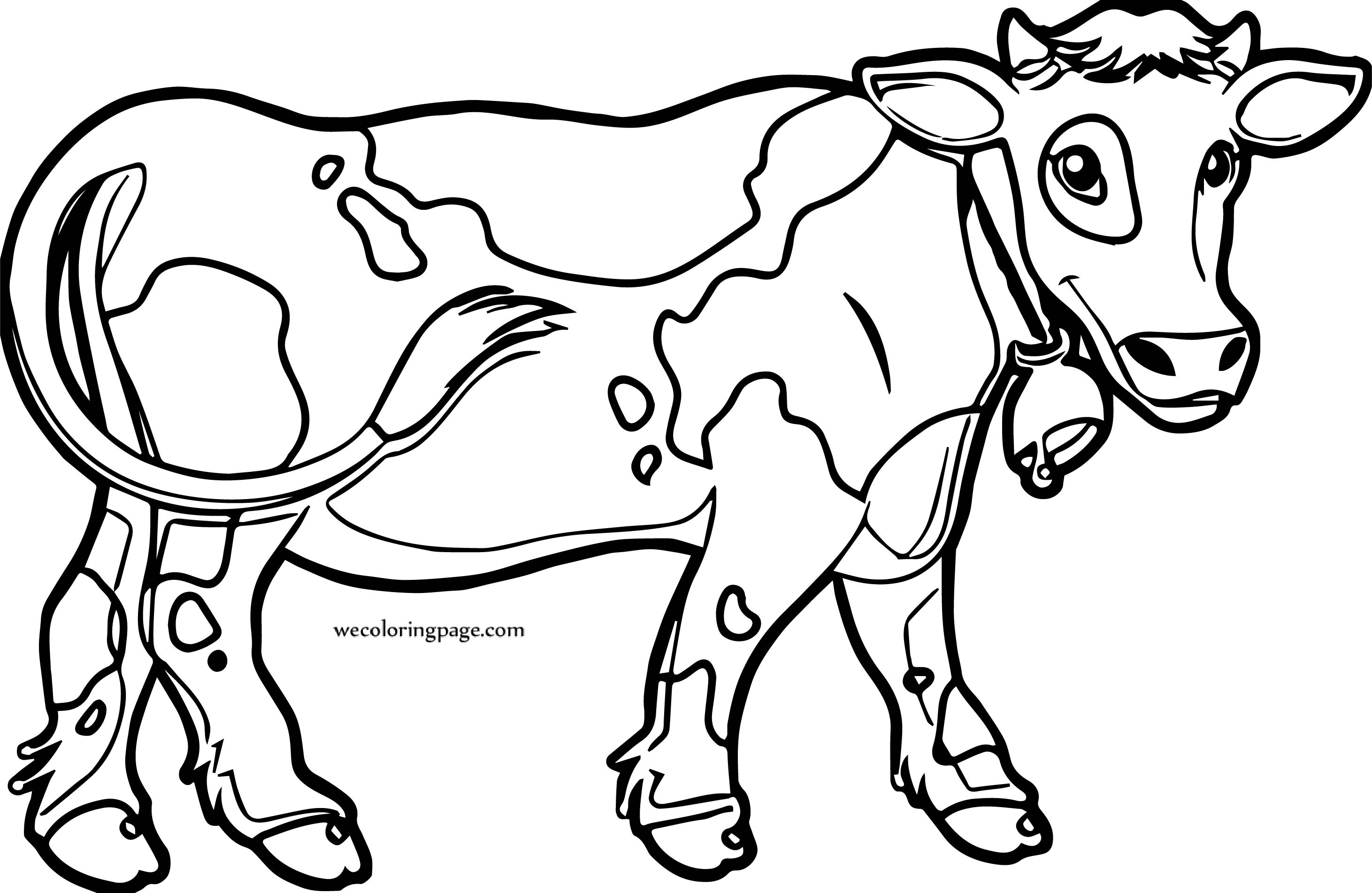 Cow Links Cow Images Coloring Page