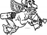 Cupido Churl Man Coloring Page