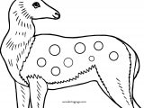 Cute Deer Coloring Page