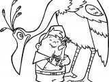 Disney Pixar Up Kevin And Russell Love Coloring Pages
