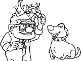 Disney Pixar Up Kevin Dug Animals Coloring Pages
