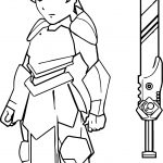 Final Character Design Game Coloring Page