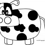 Gallery For Cow Coloring Page