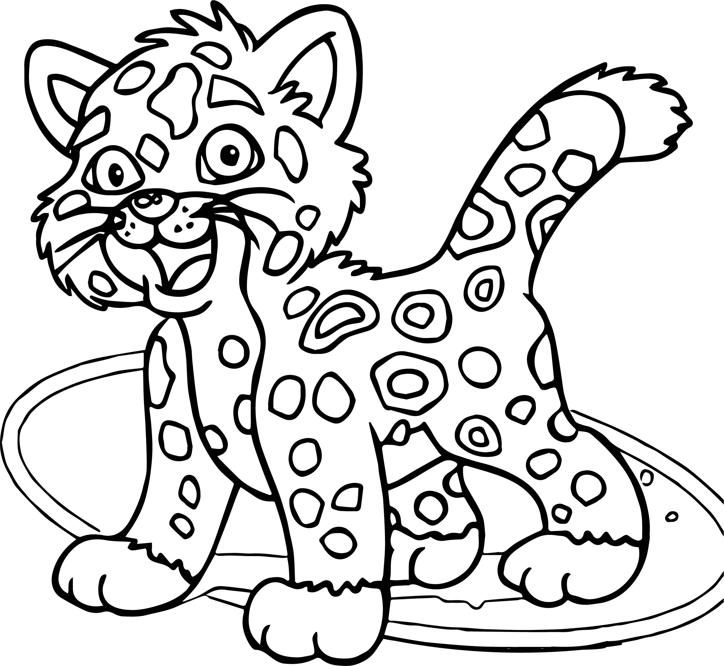 Go Diego Go Just Lion Coloring Page