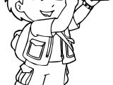 Go Diego Go Watching Coloring Page