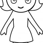 Have Girl Boy Coloring Page