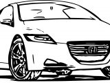 Honda Car Coloring Page
