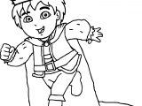 King Go Diego Go Coloring Page