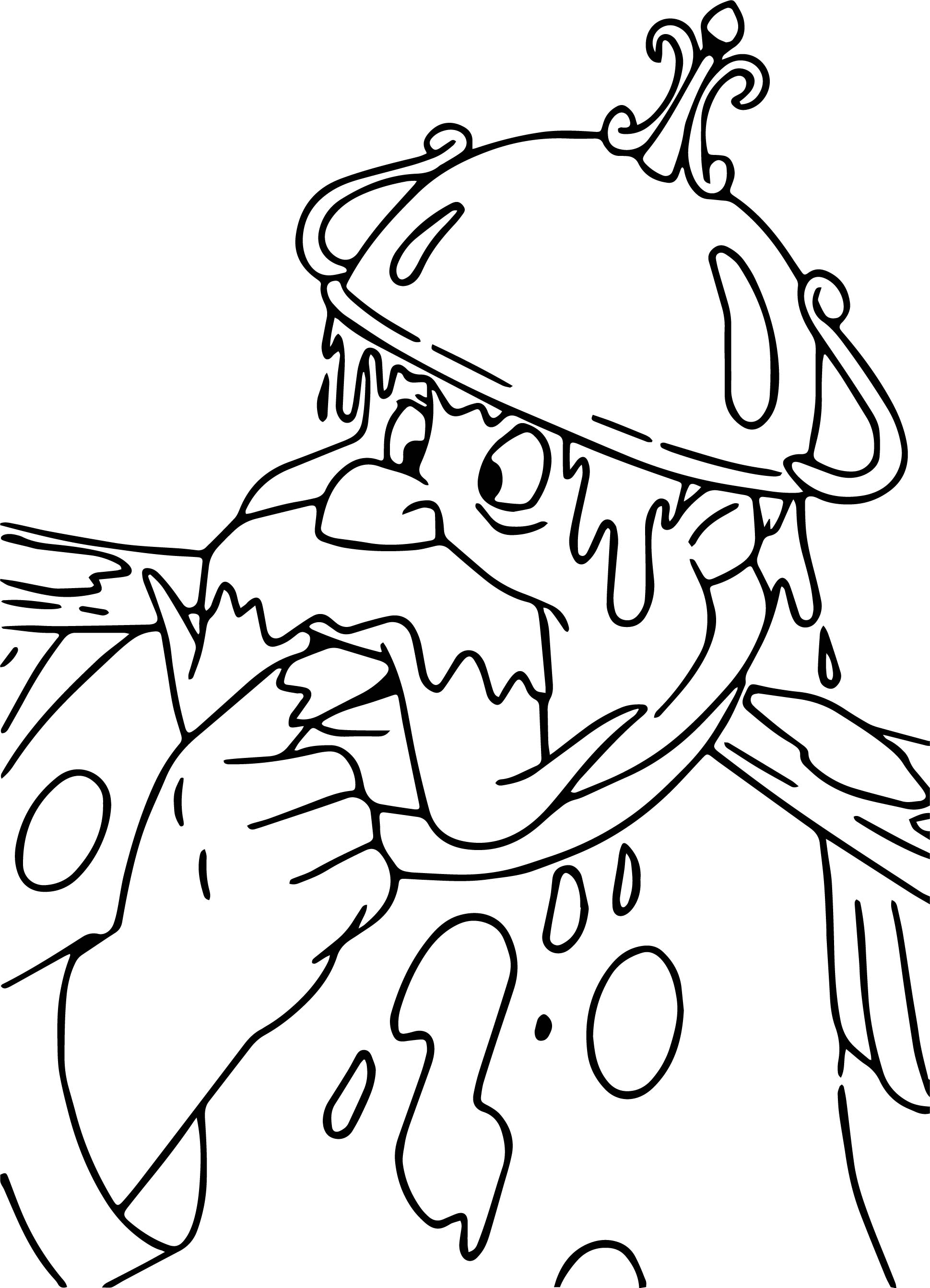 King Sauce Coloring Page
