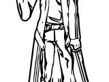 Kirito Character Coloring Page