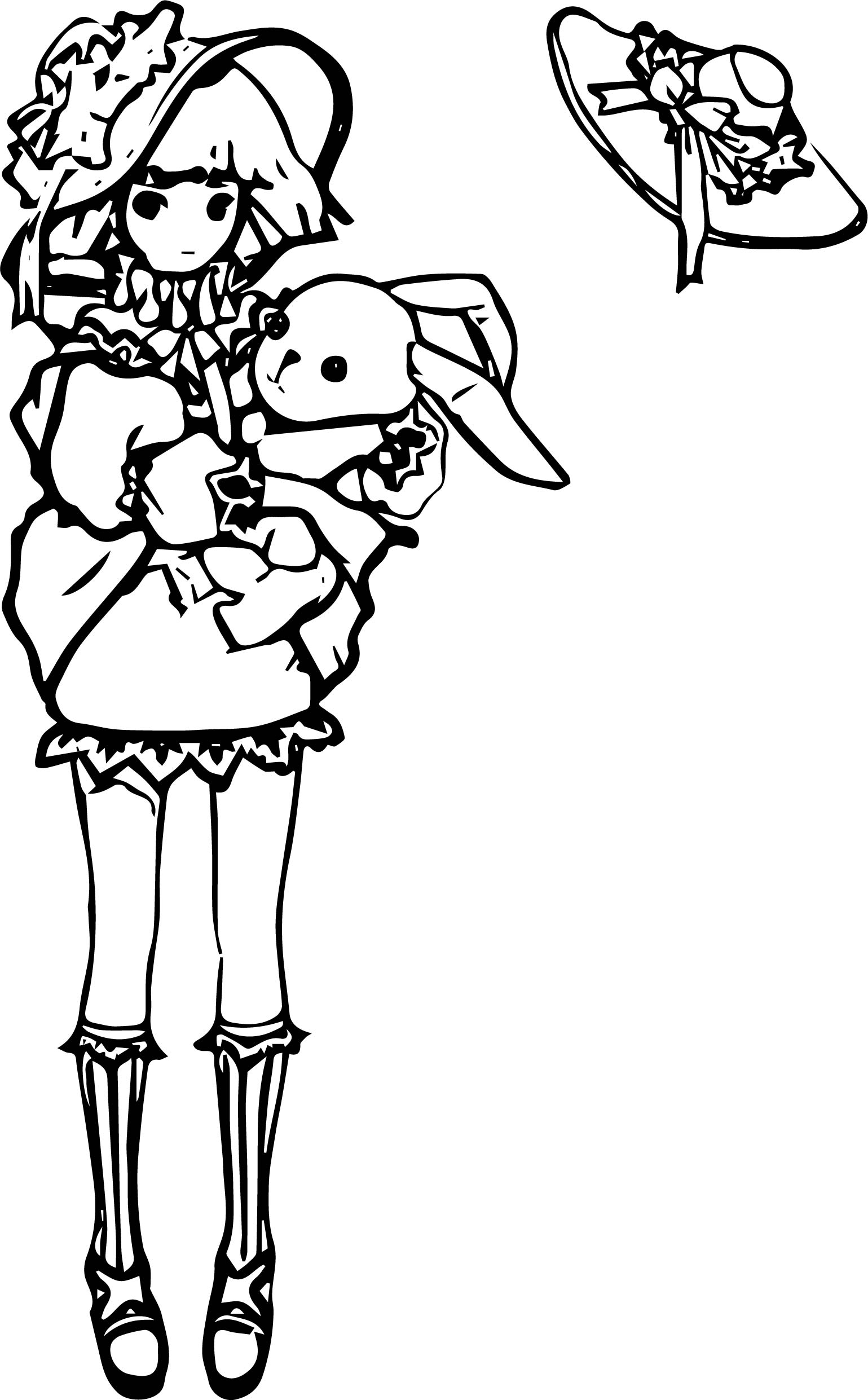 Lime Odyssey The Chronicles Character Coloring Page
