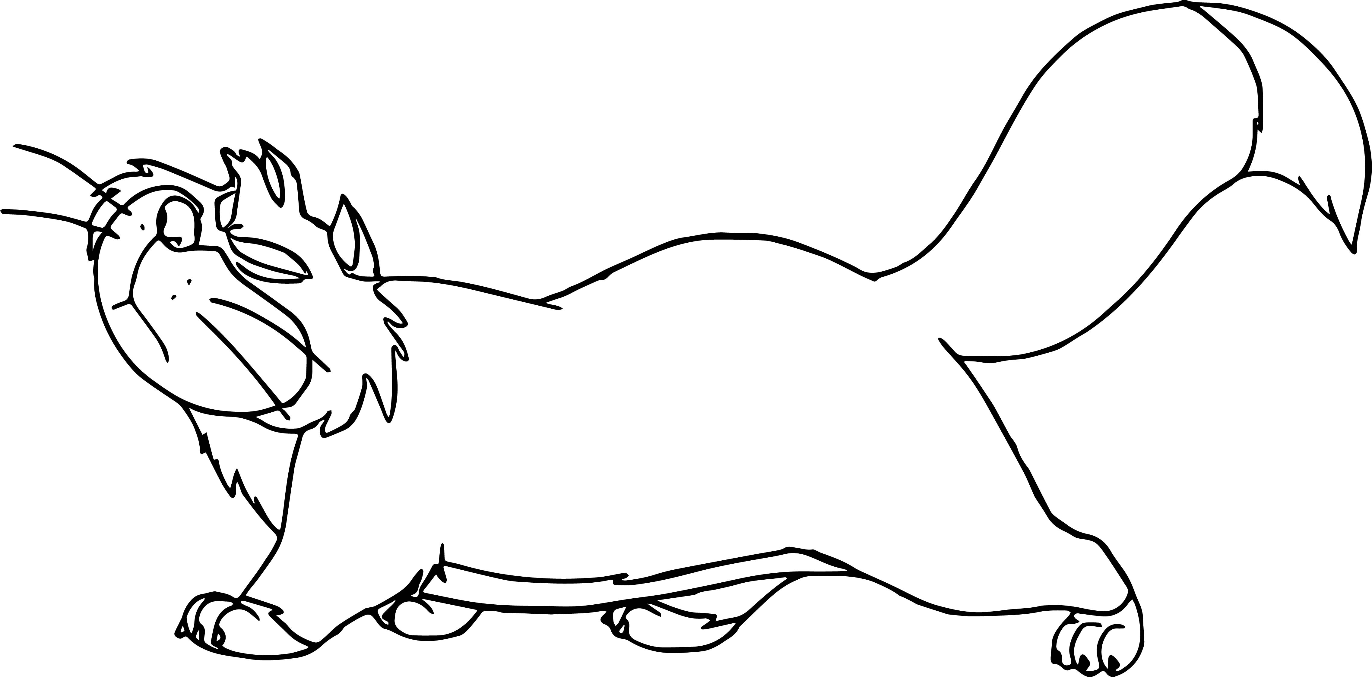 Lucifer Cat Coloring Pages