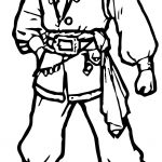 Man Characters Coloring Page