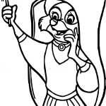 Marian Cheer Coloring Page