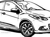 Mazda Car Coloring Page