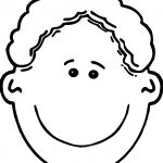 Or Boy Face Coloring Page