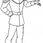Prince Charming Me Coloring Page