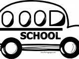School Car Coloring Page