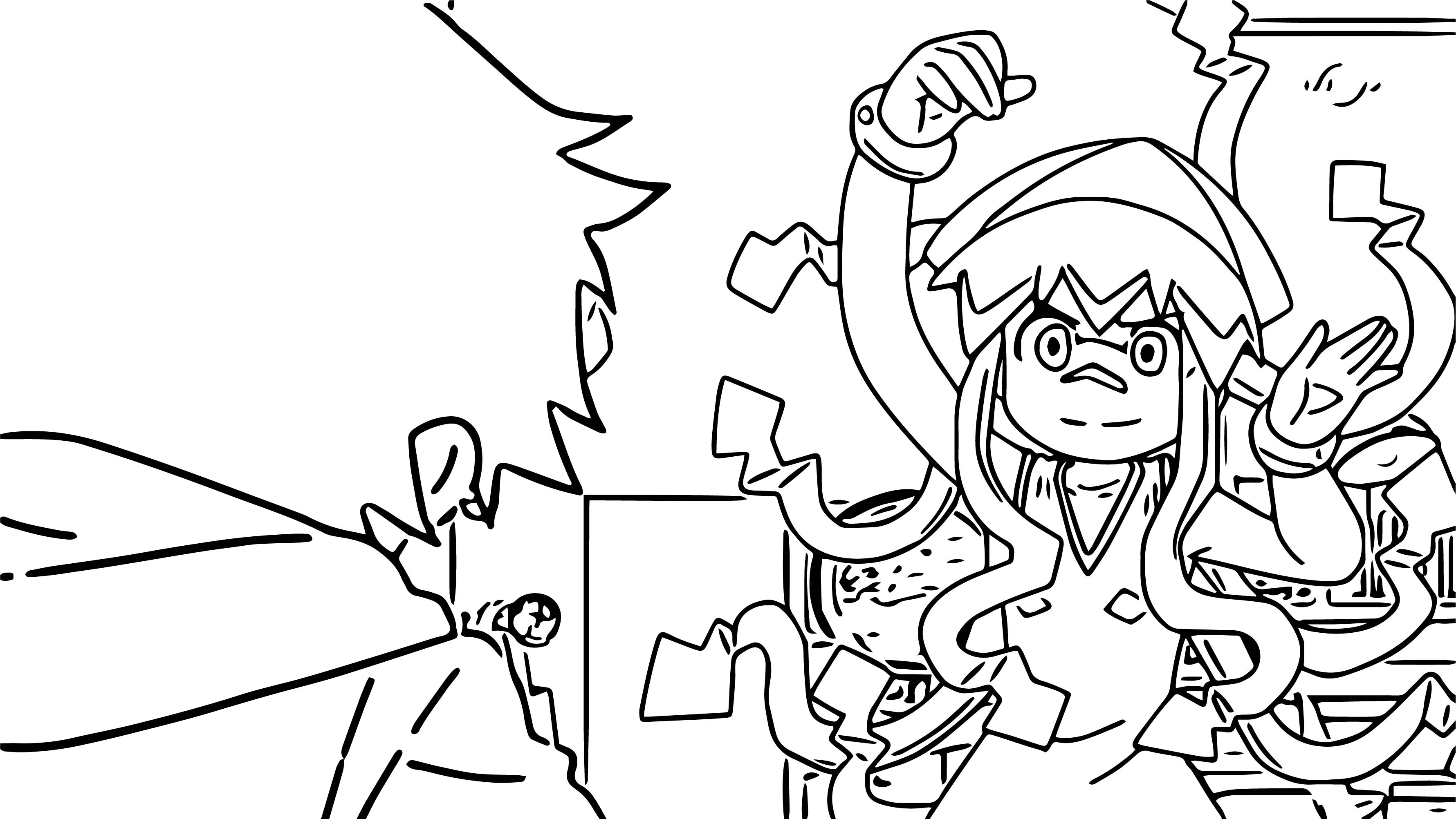 Squid Girl Look Coloring Pages