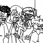 Supernoobs Scream Coloring Pages