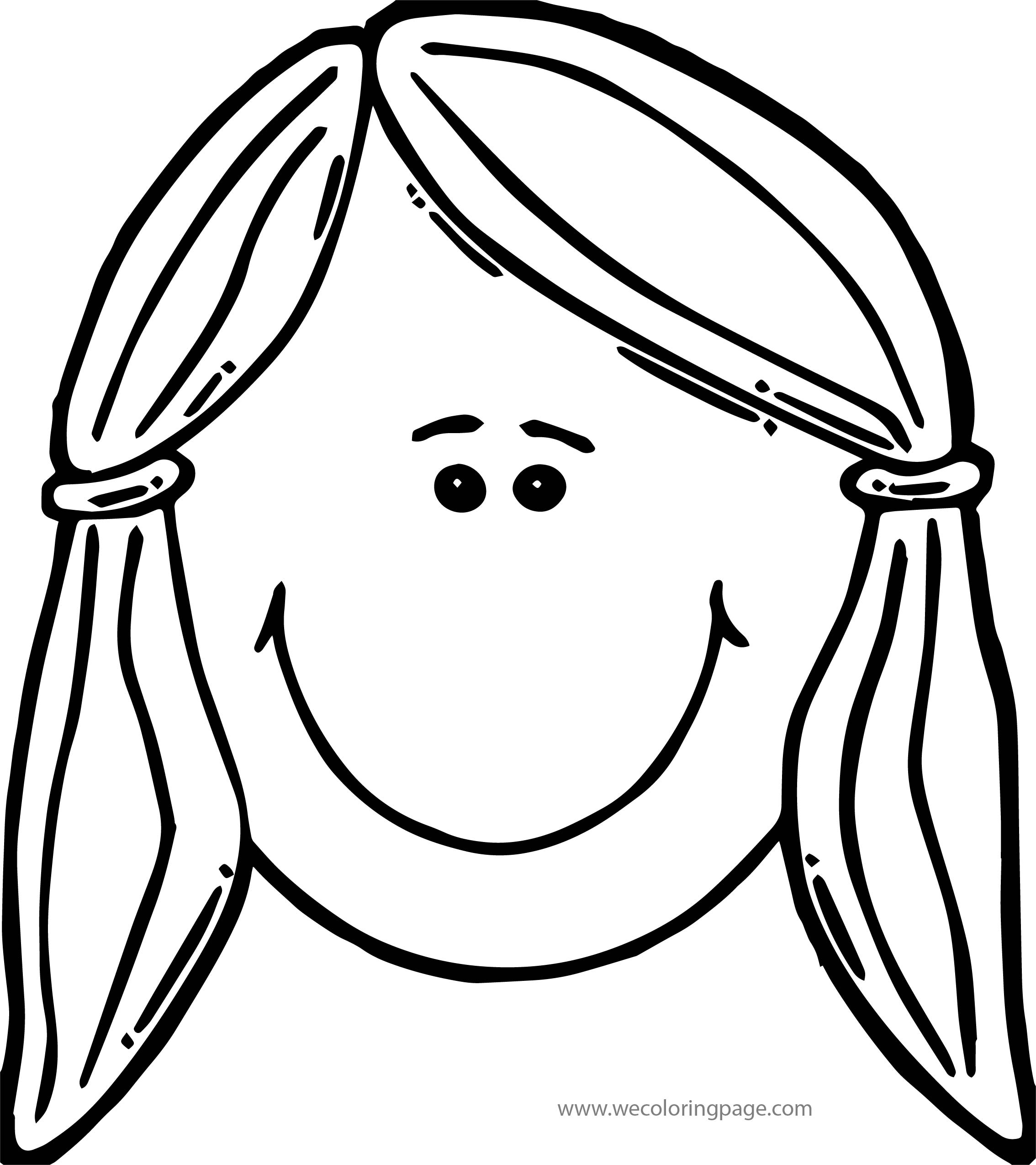 This Girl Boy Coloring Page