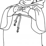 Tuck Waiting Coloring Page