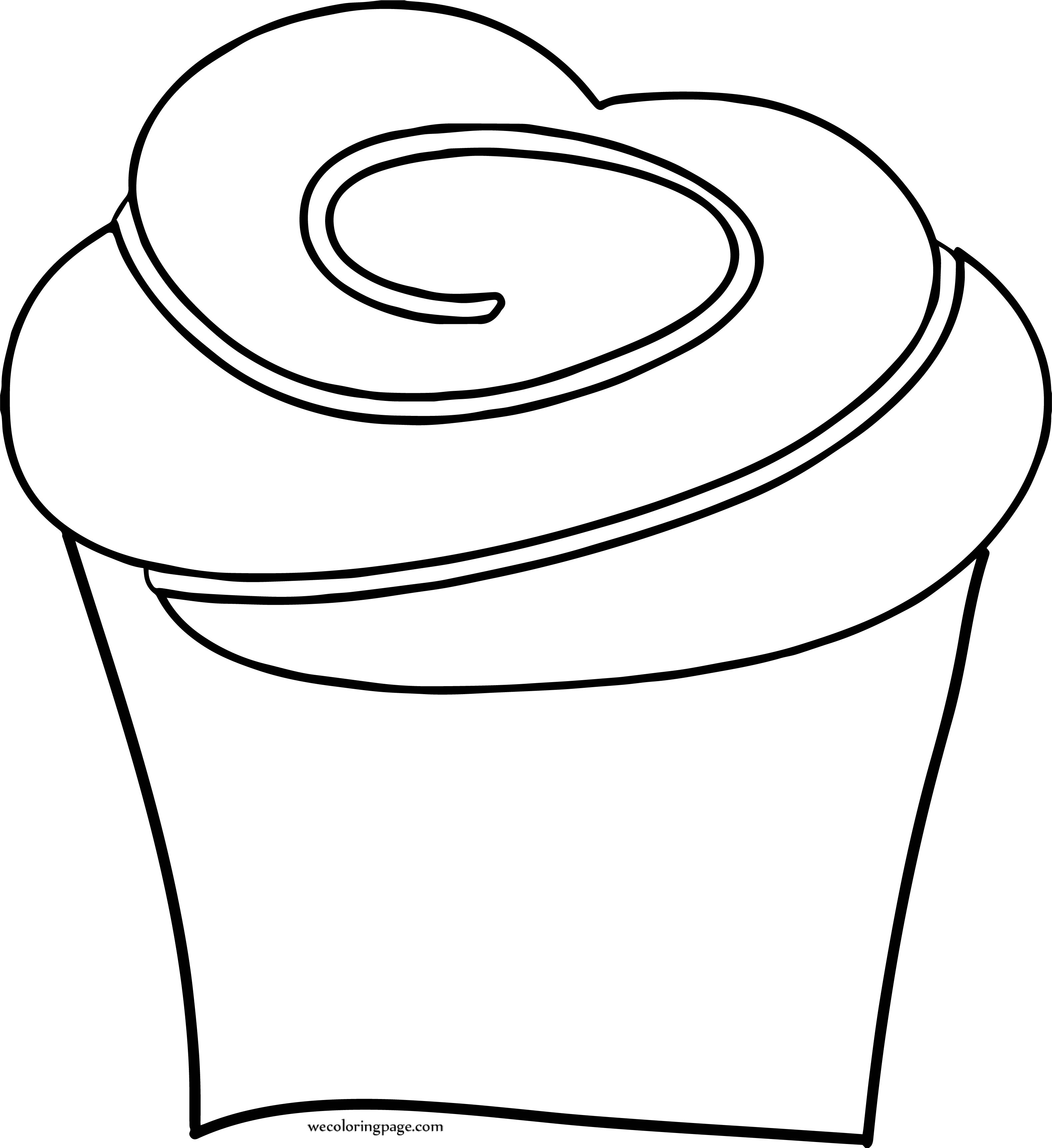 We Cupcake Coloring Page