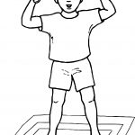 What Boy Coloring Page