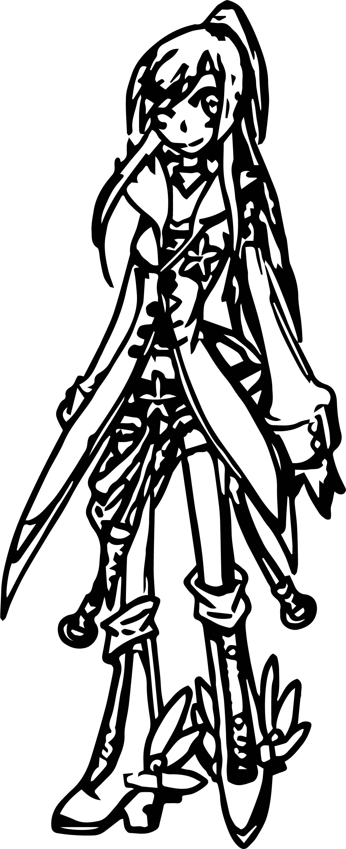 Whit S Character Coloring Page