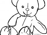 Will Bear Coloring Page For Girls