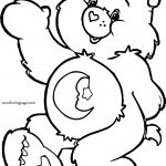 With Bear Coloring Page