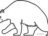 Would Bear Coloring Page For Kids