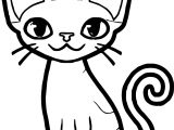 Add Cat Coloring Page