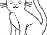 Again Cat Coloring Page