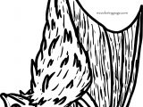 All Bat Coloring Page