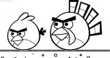 Angry Bird Turkey wecoloringpage.com Coloring Page