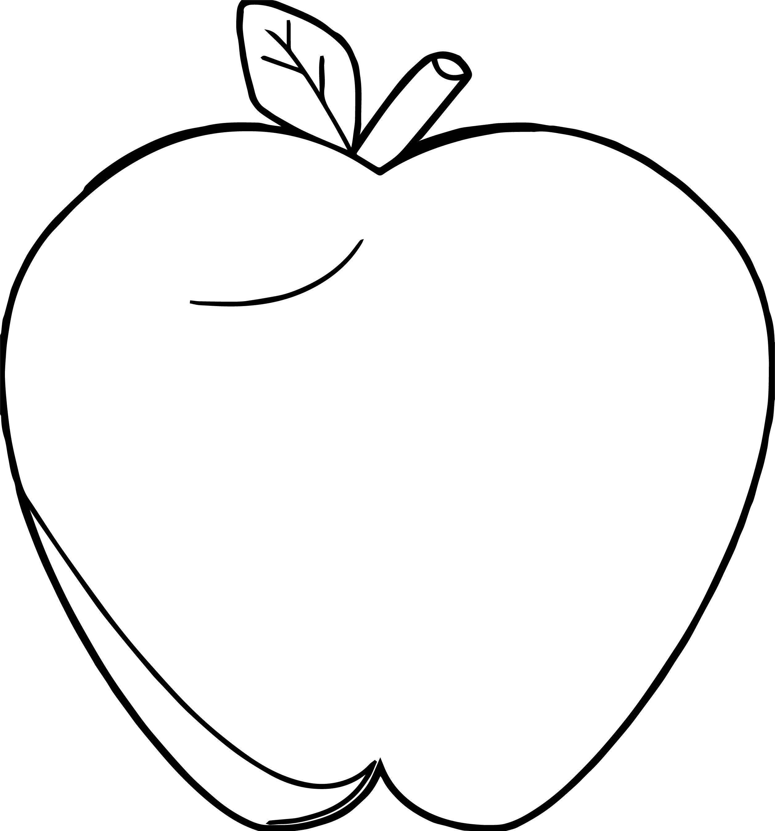 Apple White Coloring Pages Snow White Apple