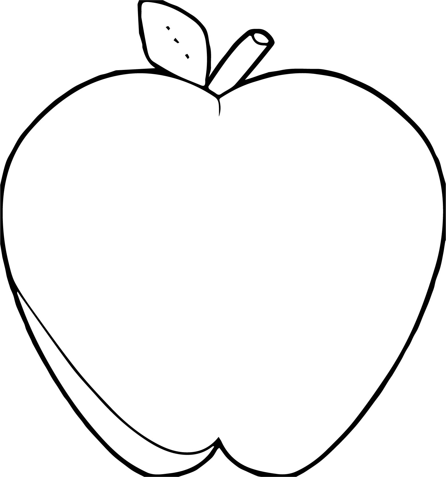 Apples Free Printable Templates & Coloring Pages