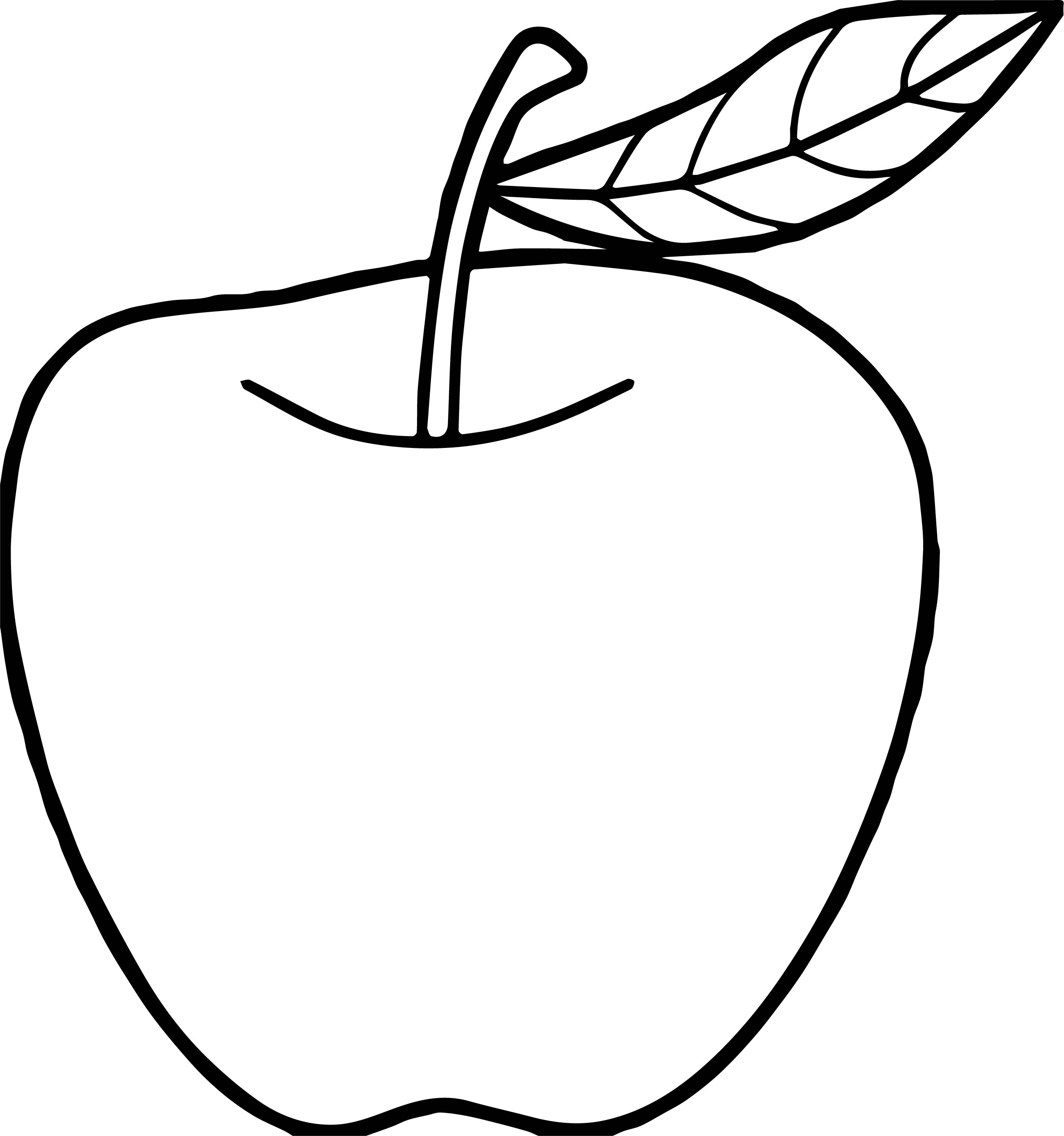 Apples Printable Templates & Coloring Pages