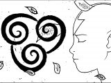 Avatar Aang Serenity Complex Dpdz Avatar Aang Coloring Page