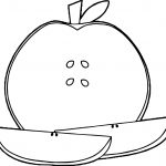 Awesome Apples Coloring Pages Collection