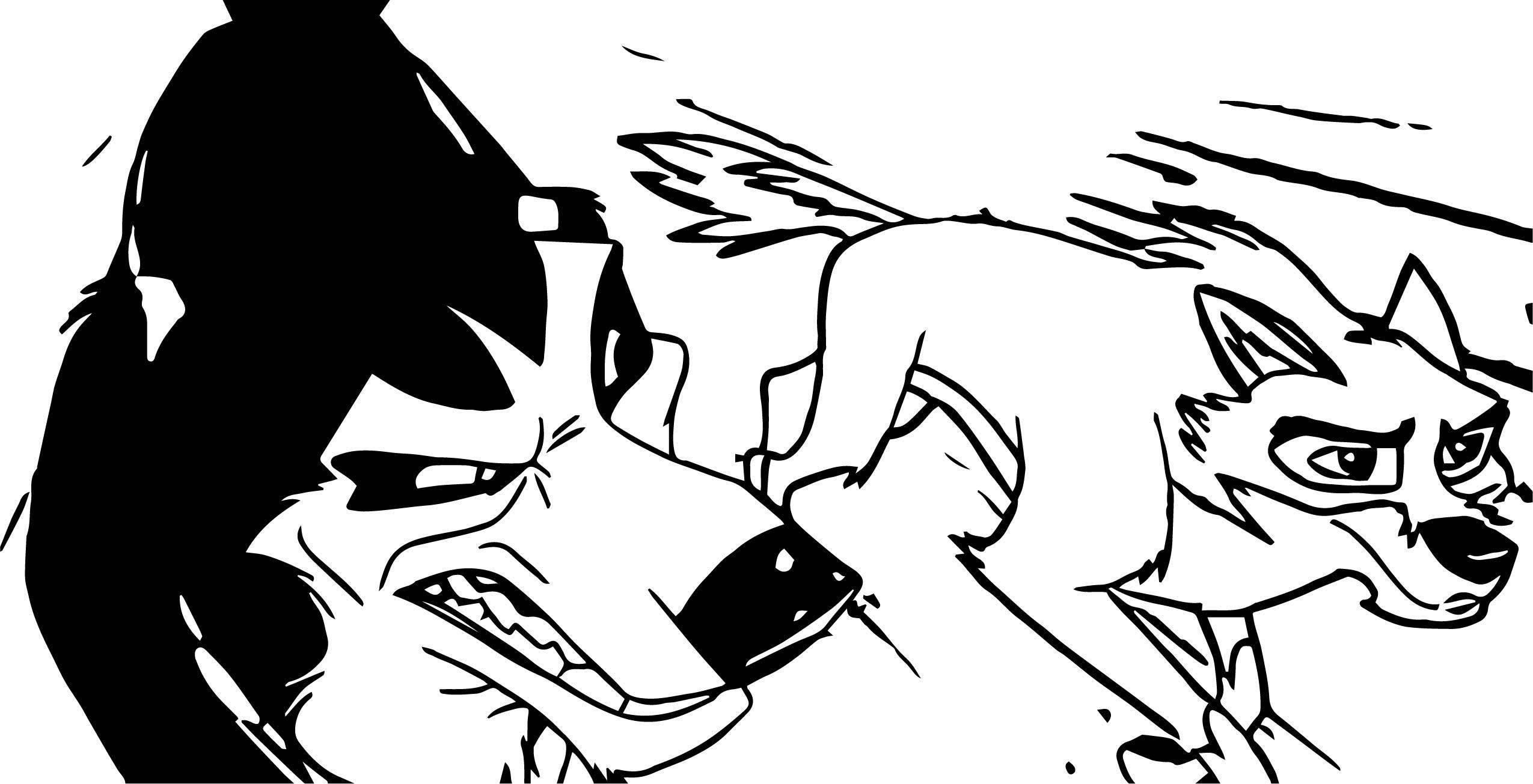 Balto Disneys Wolf Coloring Page