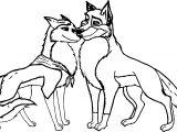 Balto Jenna Wolf Coloring Page