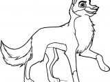 Balto Speed Wolf Coloring Page